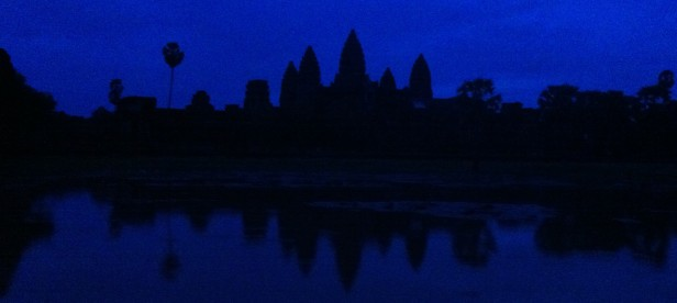 Sunrise over Angkor Wat?