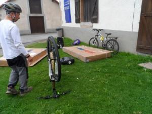 Bikes almost ready