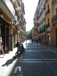 Pamplona's City streets