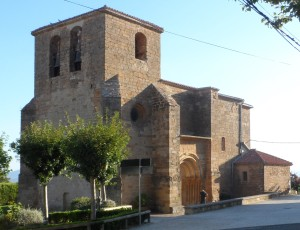 On the way to the summit, the Church at Zariqiegui