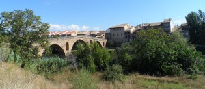 Puente la Reina one of the 'most emblematic points on the way through Navarre'