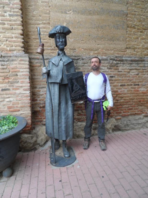 Who's the pilgrim?